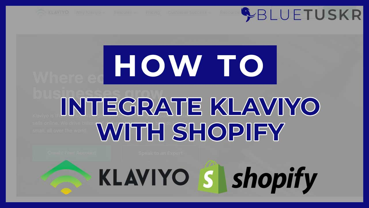 How To Integrate Klaviyo With Shopify