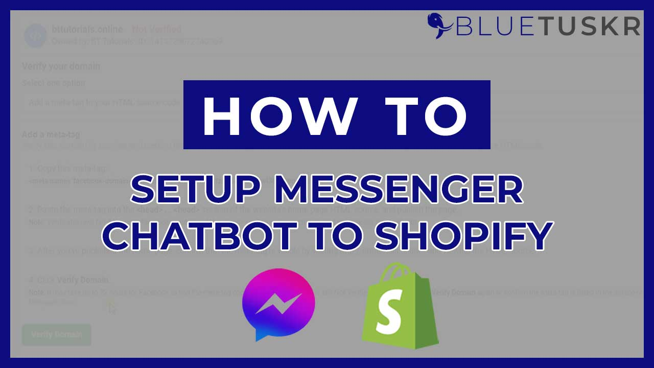 How to Setup Facebook Messenger Chatbot to Your Shopify Website