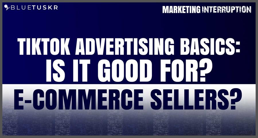 TikTok Advertising Basics: Is it Good for E-commerce Sellers?