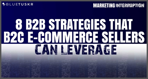 8 B2B Strategies that B2C E-commerce Sellers Can Leverage
