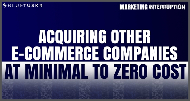 Acquiring Other E-commerce Companies at Minimal to Zero Cost