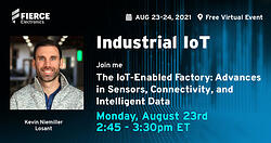 Kevin Niemiller is joining an IoT panel at the Industrial IoT Summit