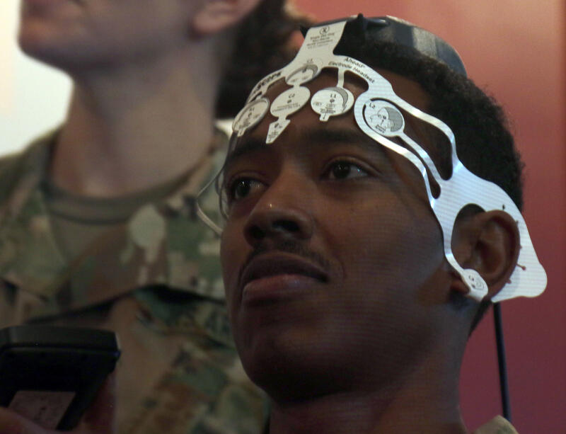 BrainScope in use at Combat Support Hospital