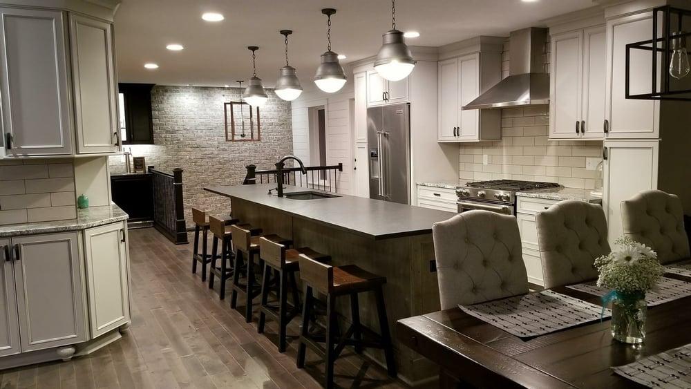 Super cool kitchen island