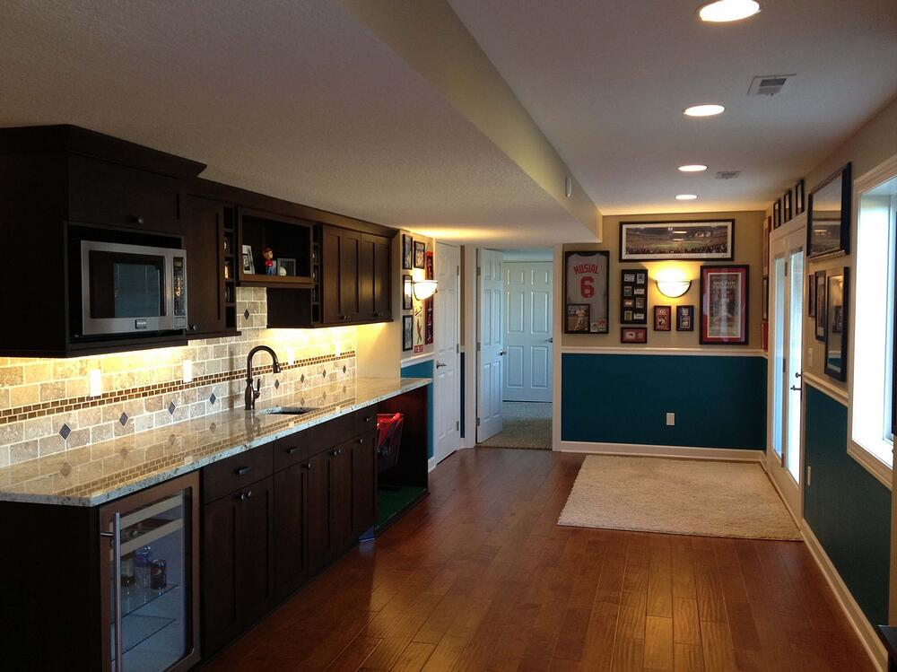 Great finished lower level