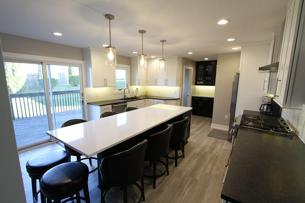 Huge custom kitchen island