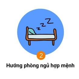 hướng phòng ngủ hợp mệnh