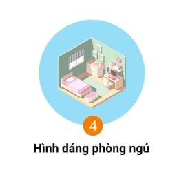 hình dáng phòng ngủ