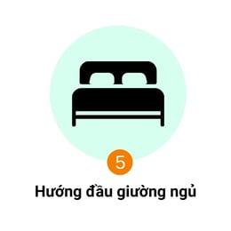hướng đầu giường ngủ