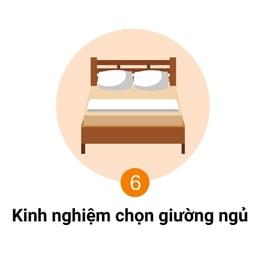 kinh nghiệm chọn giường ngủ