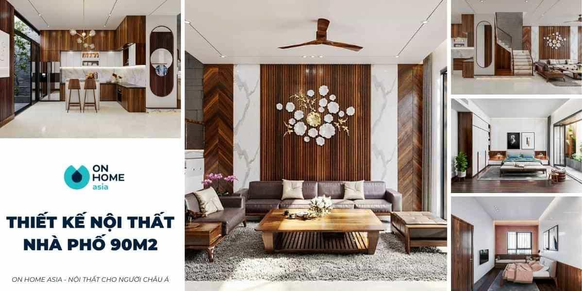 Thiết kế nội thất nhà phố 90m2 đẹp mà gia chủ cần tham khảo ngay