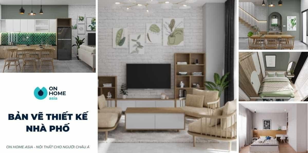 50+ Mẫu bản vẽ thiết kế nội thất nhà phố đẹp dẫn đầu xu hướng hiện nay