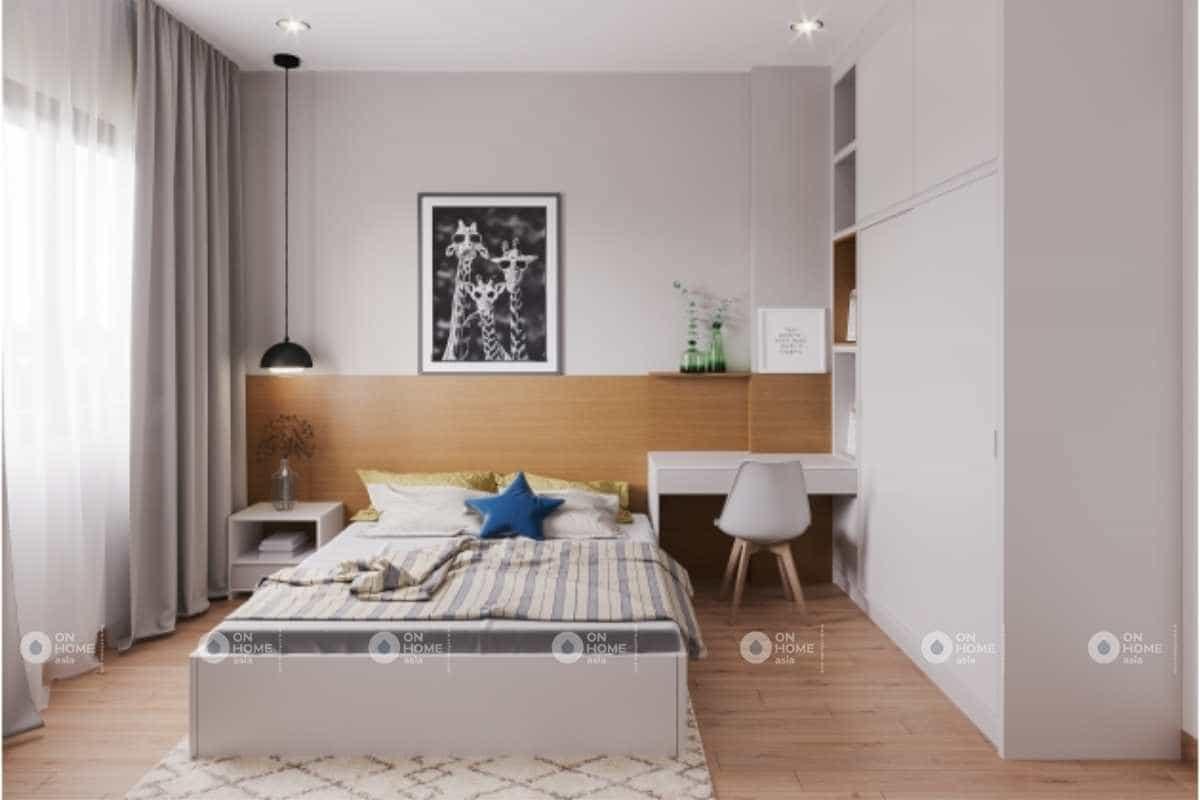 Phối cảnh nội thất phòng ngủ trẻ em