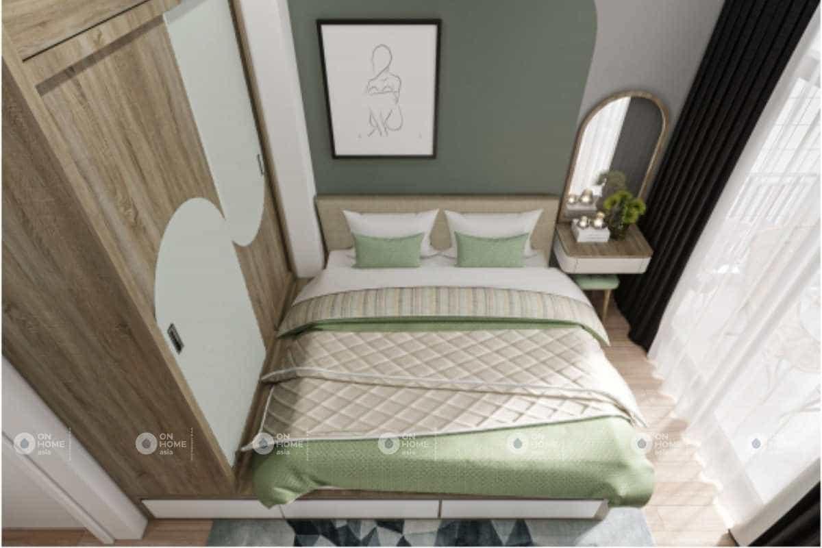 Phối cảnh thiết kế nội thất phòng ngủ