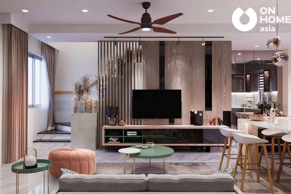 Kiến trúc phòng khách đẹp và cuốn hút