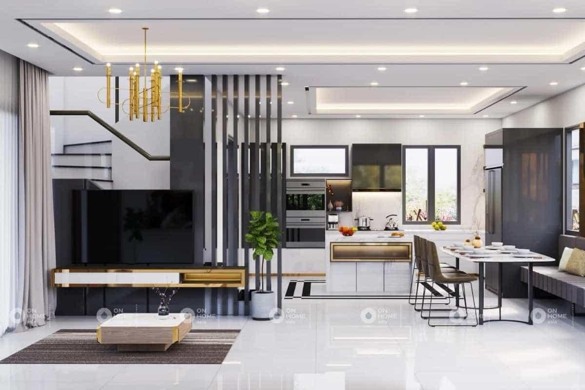 Lưu ý khi thiết kế nội thất nhà phố trong chủ đề và phong cách