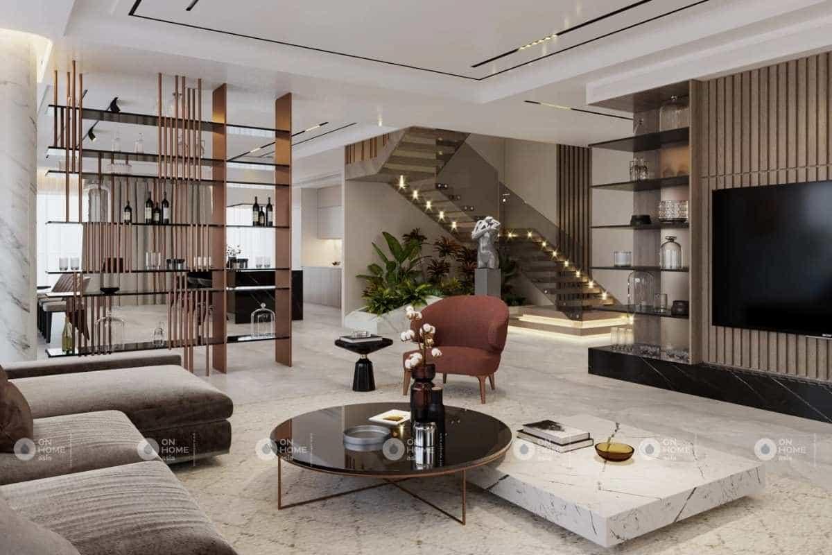 lưu ý khi thiết kế nội thất nhà phố với kích thước nội thất