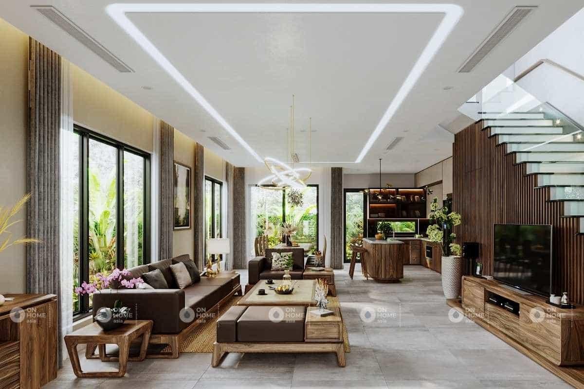 lưu ý khi thiết kế nội thất nhà phố đẹp