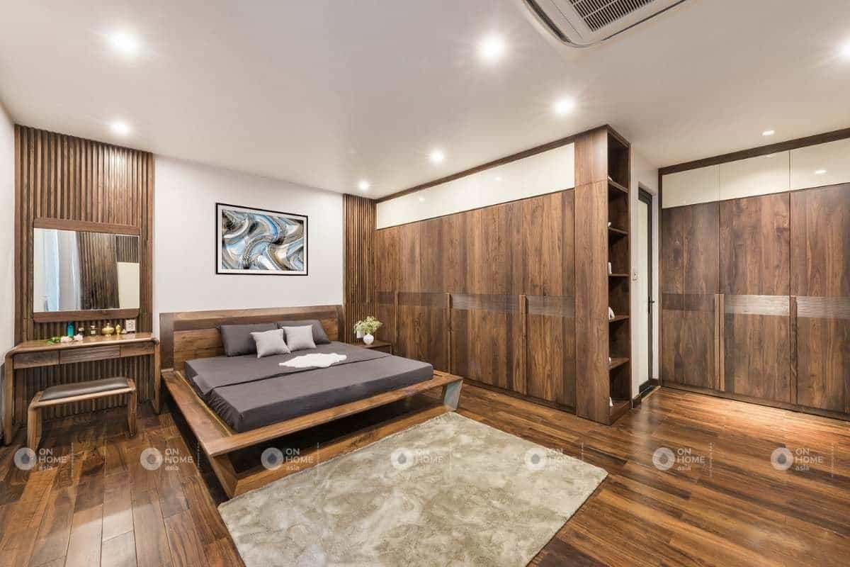 phòng ngủ nhà phố 120m2