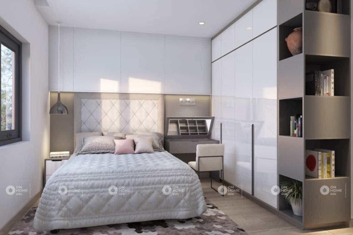 Nội thất phòng ngủ thanh lịch và tinh tế