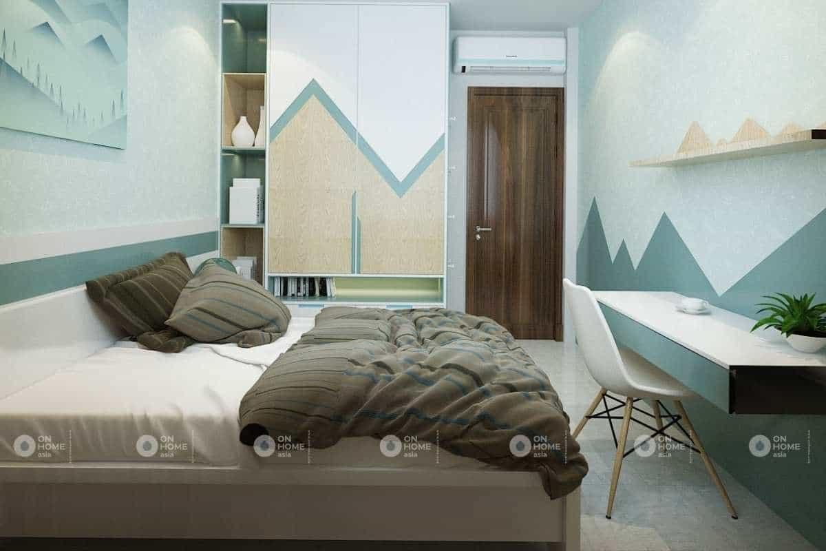 Phòng ngủ trẻ em với các họa tiết đáng yêu