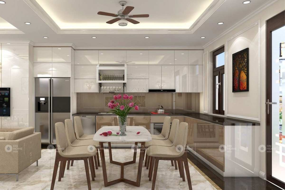 Thiết kế nội thất phòng bếp cuốn hút