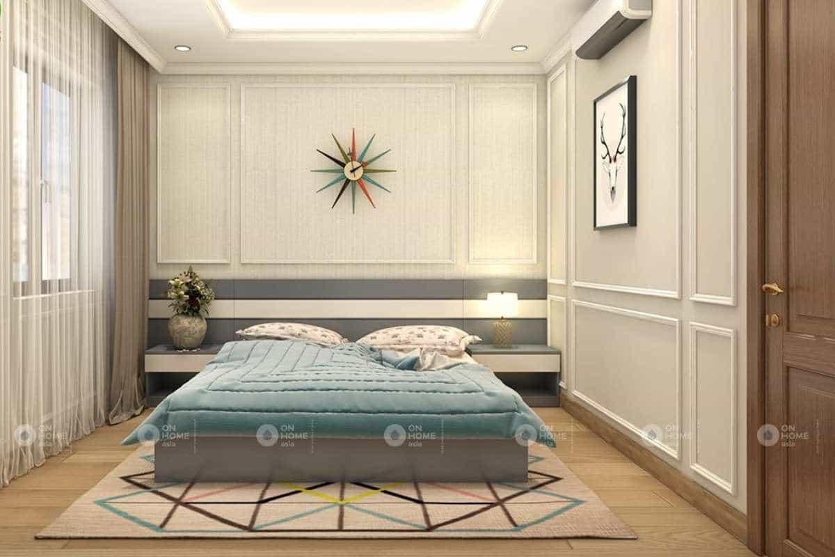 Thiết kế nội thất phòng ngủ đẹp mắt