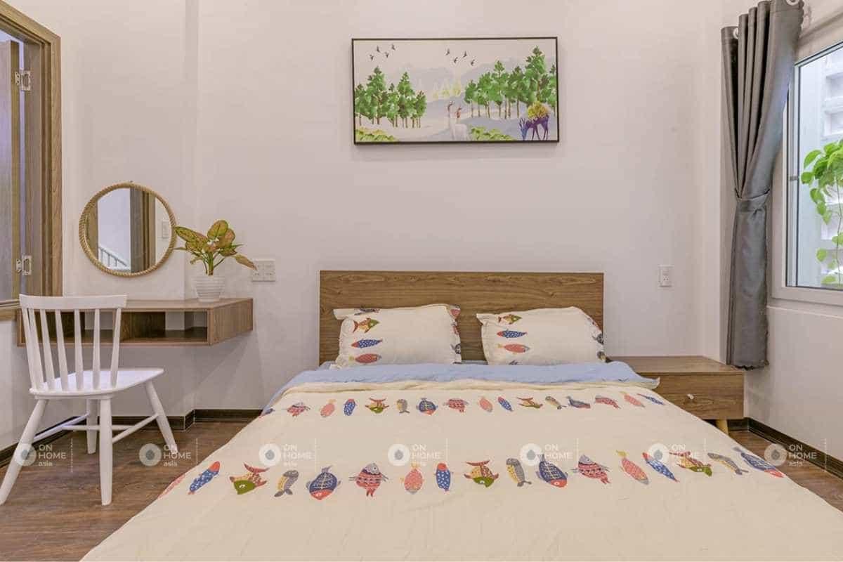 Nội thất phòng ngủ trẻ em với các họa tiết đáng yêu