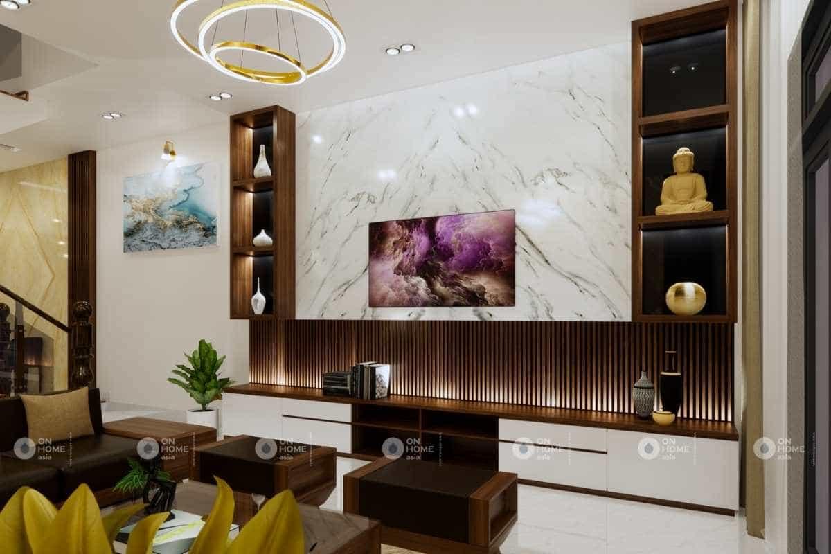 Thiết kế nội thất nhà 5x20m đẹp mang lại không gian sống tuyệt vời