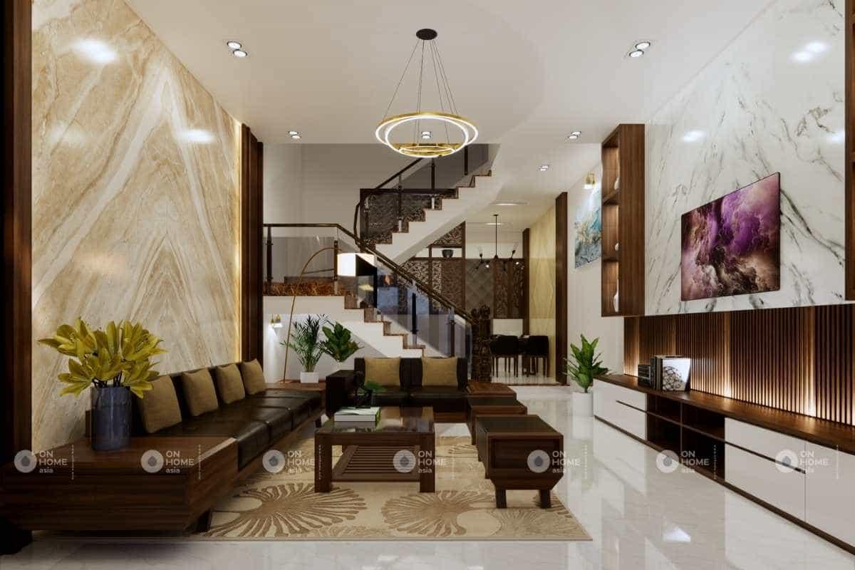 Thiết kế nội thất nhà phố 5x20m2 đẹp