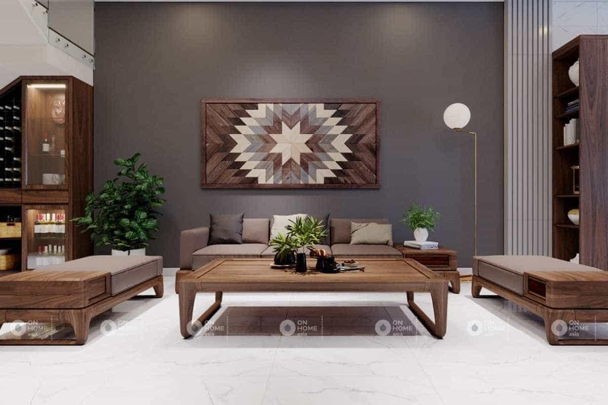 Thiết kế nội thất nhà phố 5x20m với chất liệu gỗ mềm mại và ấm áp