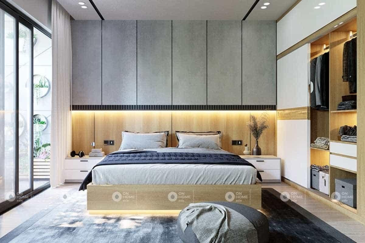 thiết kế nội thất nhà phố 5x20m