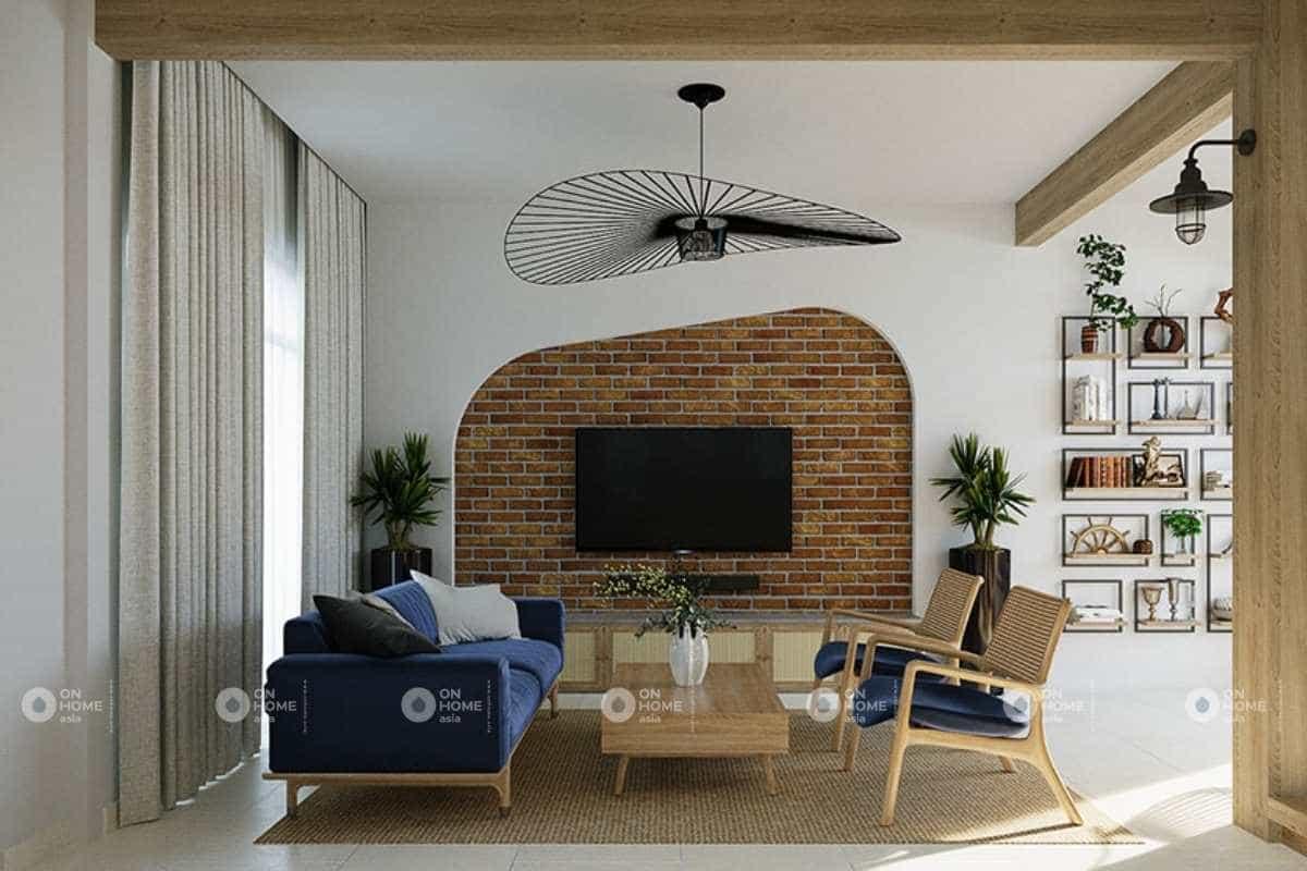 Thiết kế nội thất nhà phố Scandinavian và phong cách Tropical