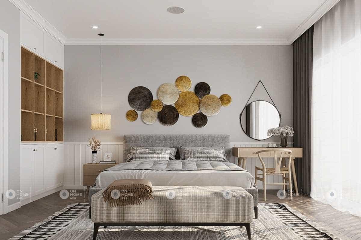 Thiết kế phòng ngủ master đầy ấn tượng