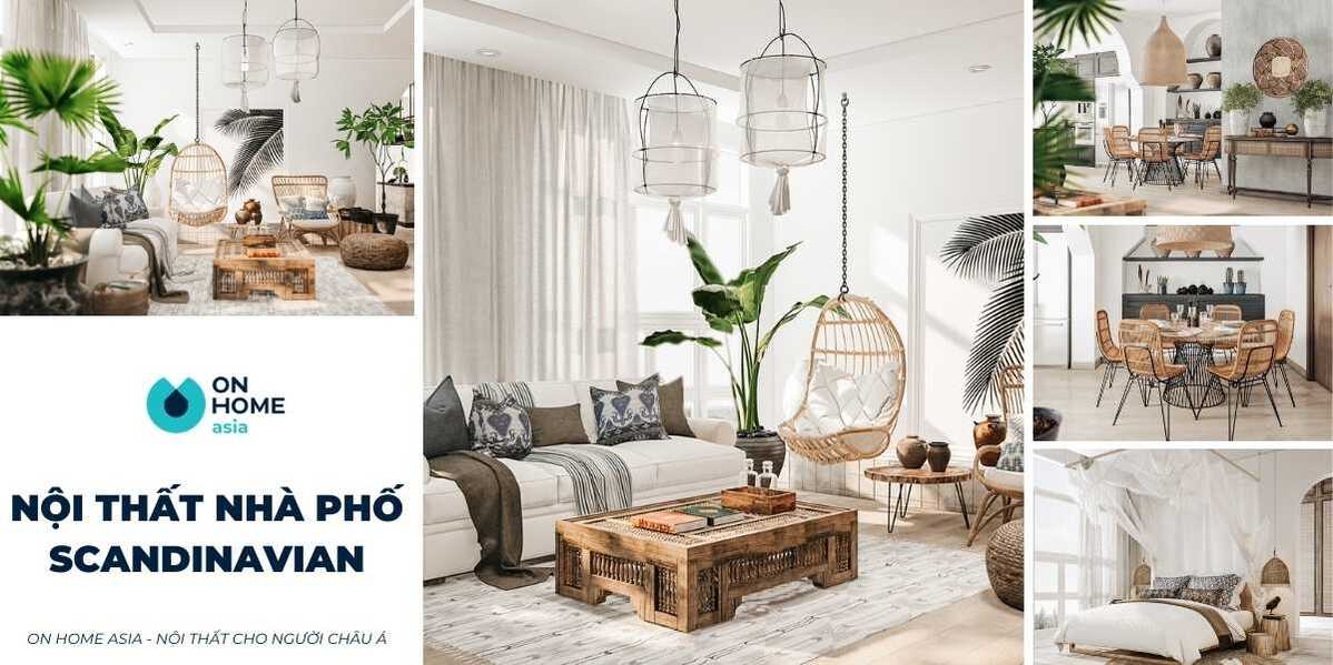 Top 5 mẫu thiết kế nội thất nhà phố Scandinavian hot nhất hiện nay