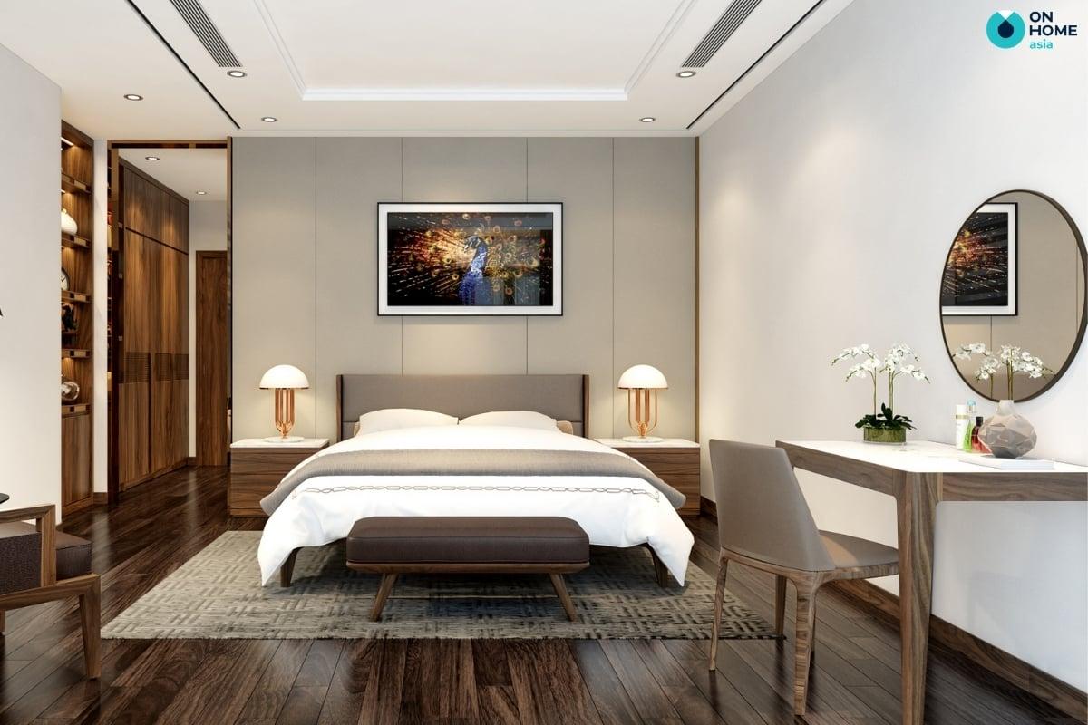 Gương trang trí phòng ngủ