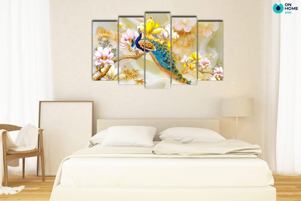 lựa chọn tranh treo tường phòng ngủ