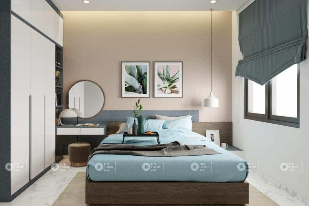 Bố trí nội thất phòng ngủ hài hòa