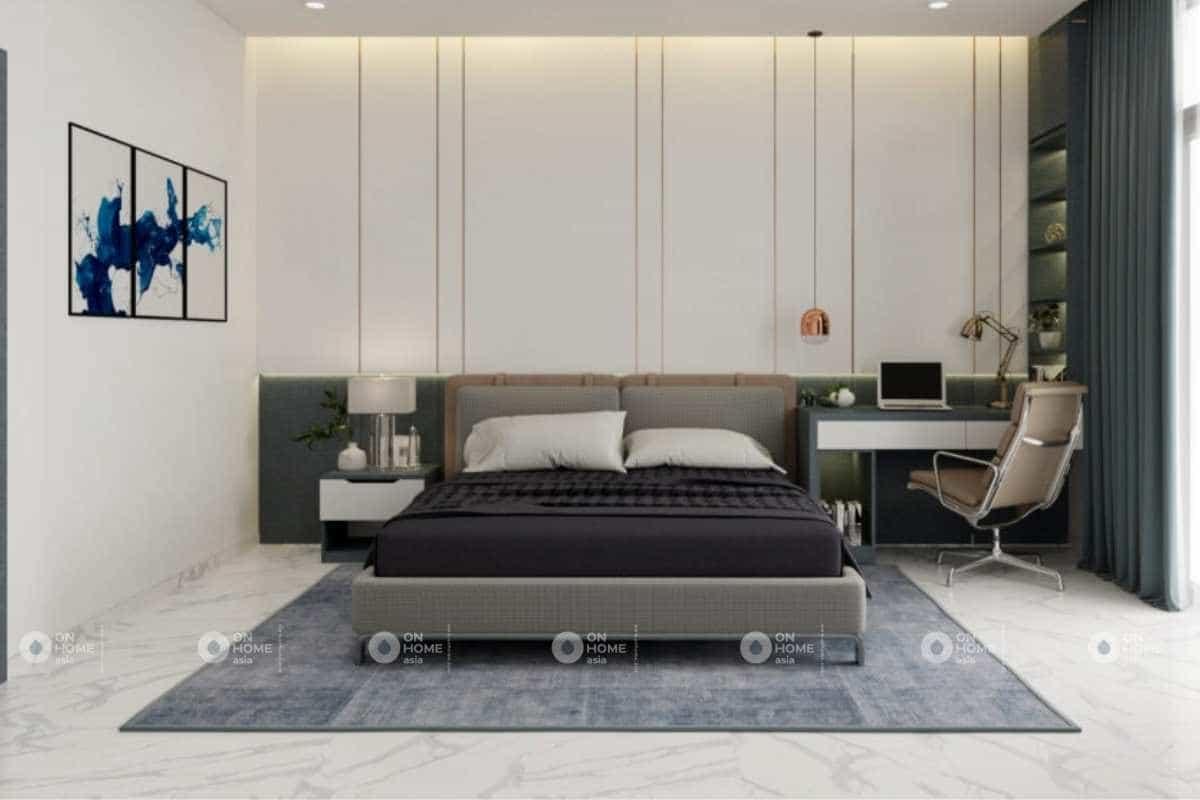 Thiết kế phòng ngủ master thanh lịch