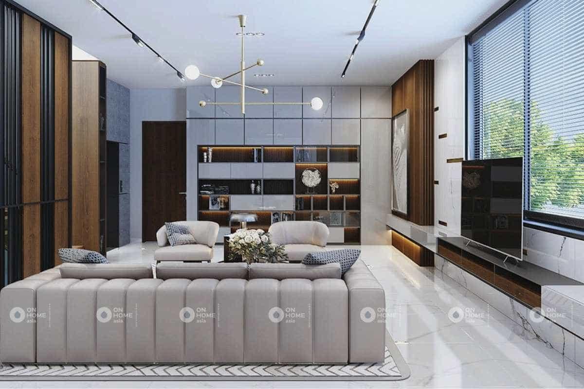 Sofa phòng khách nhà cấp 4