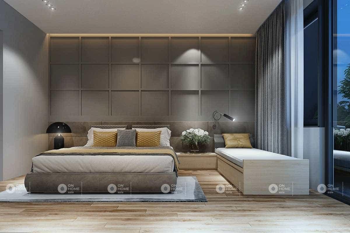 Không gian phòng ngủ sang trọngnhà cấp 4