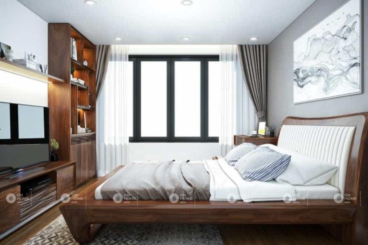 Thiết kế phòng ngủ master nhà cấp 4