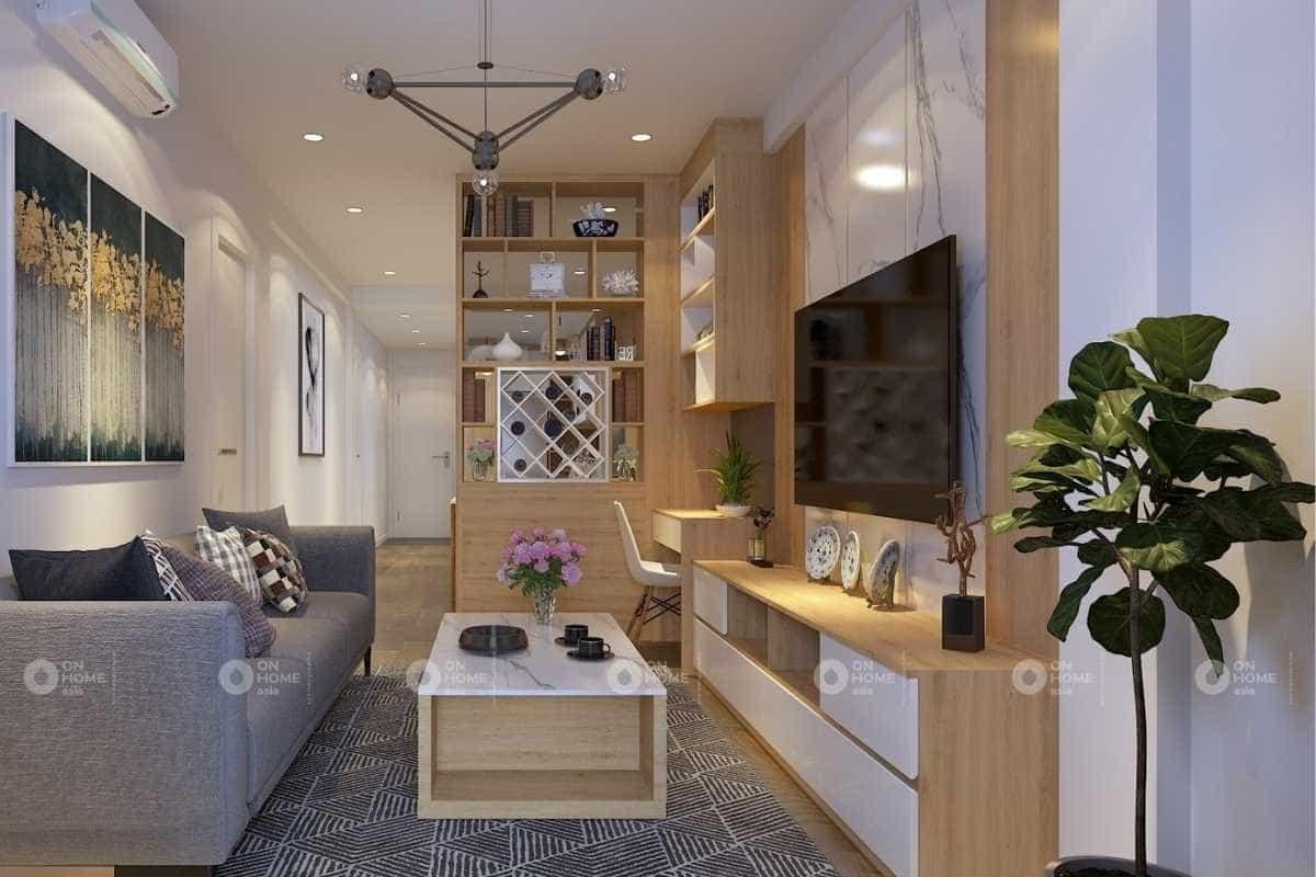 Thiết kế nội thất nhà phố 30m2 dành cho nhà cấp 4