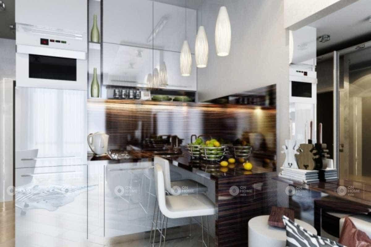 Thiết kế nội thất phòng bếp siêu tiện nghi