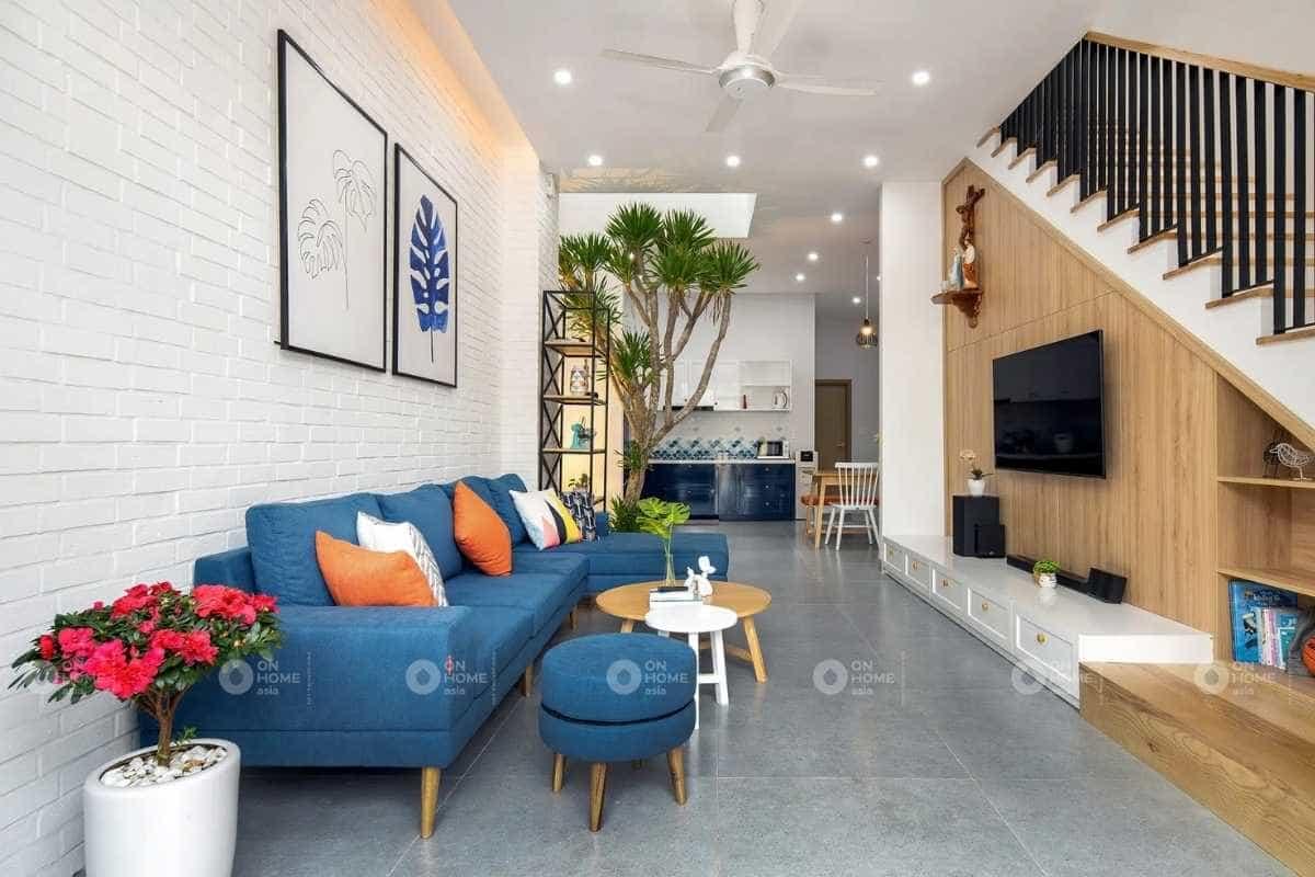 Thiết kế nội thất nhà 30m2 2 tầng