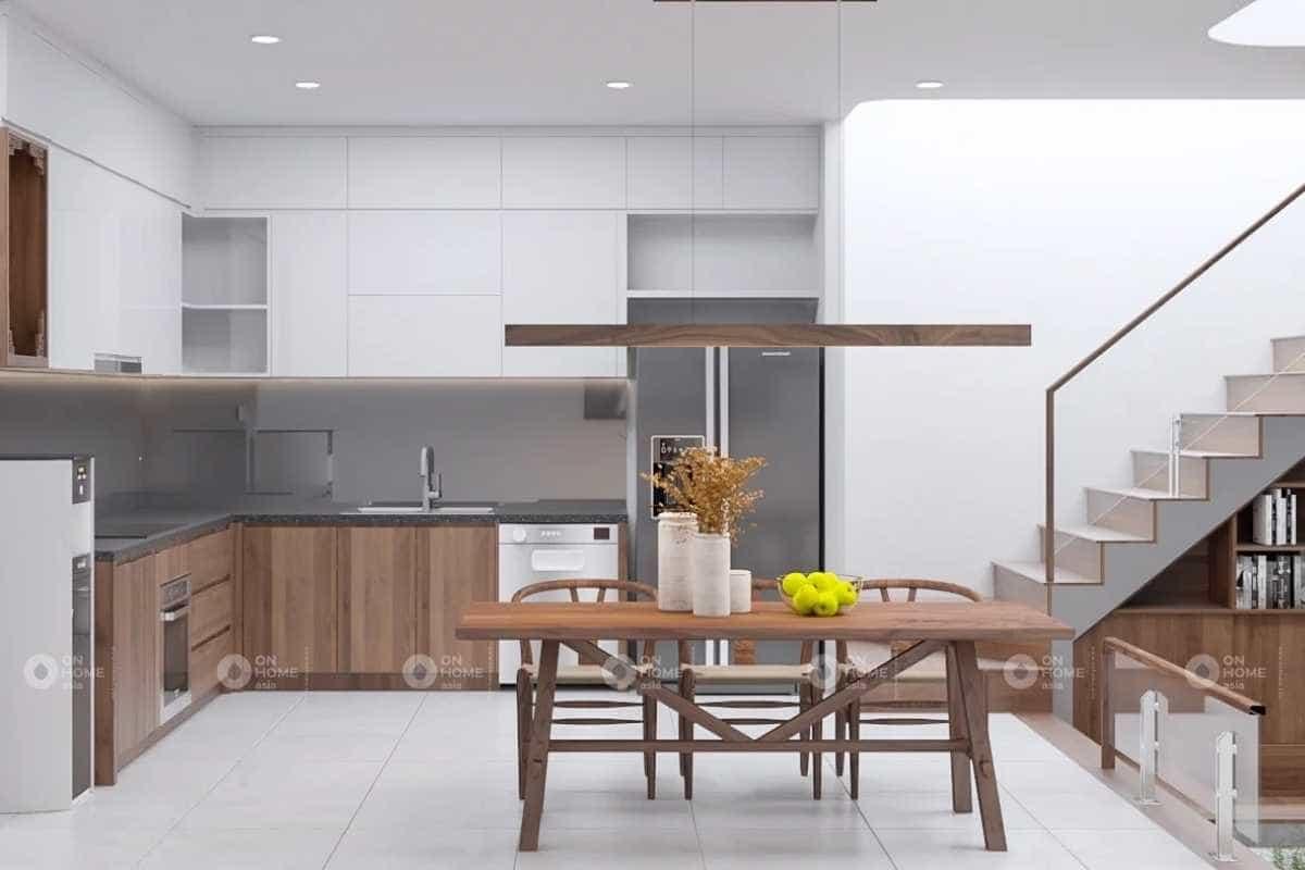 thiết kế nội thất nhà phố 30m2