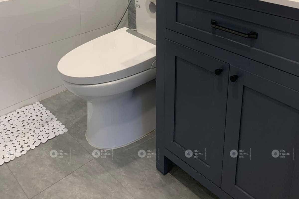 thiết kế nội thất nhà phố với nhà vệ sinh