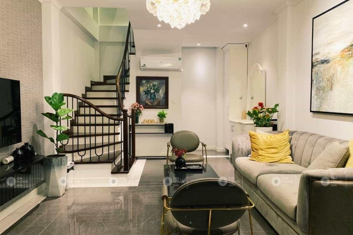 Thiết kế nội thất nhà phố nhỏ 4 tầng hiện đại