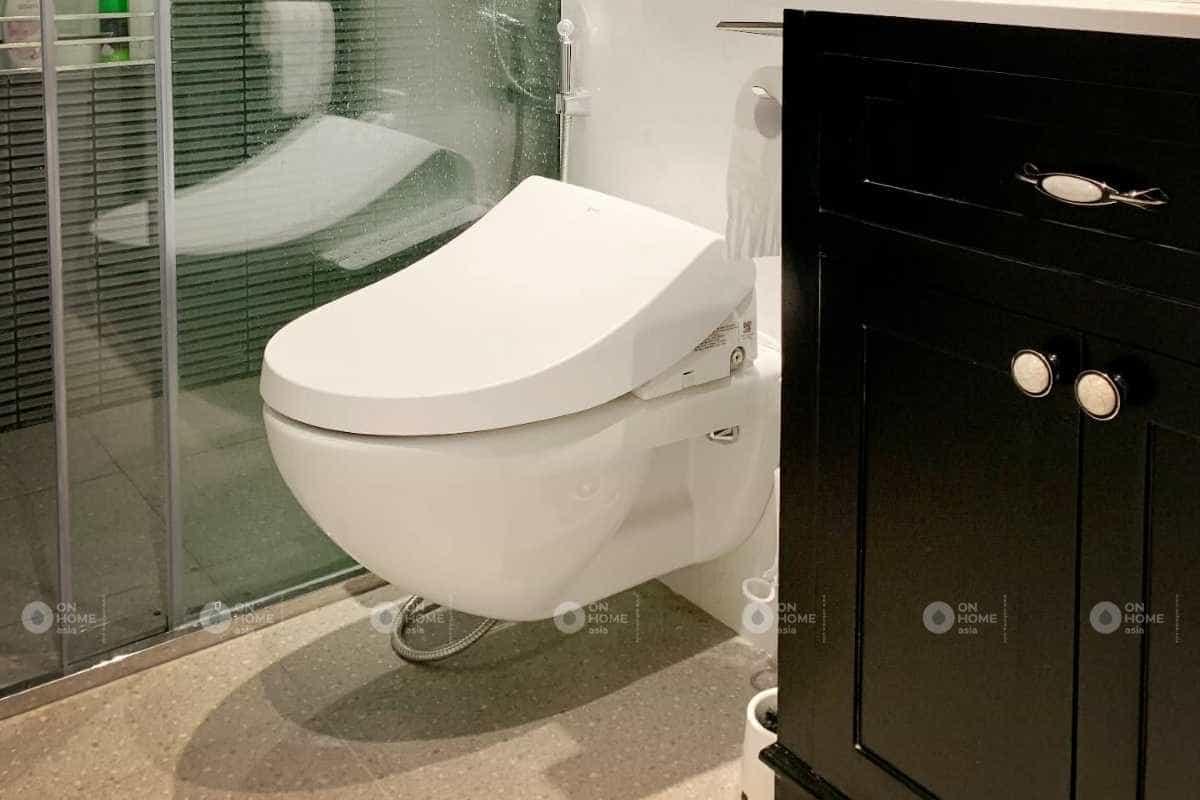 Thiết kế phòng ngủ có nhà vệ sinh tiện lợi