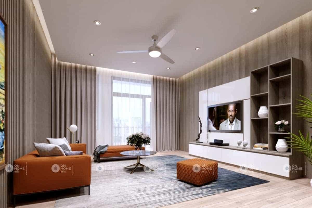 Thiết kế nội thất nhà lô phố hiện đại